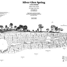 Eric Hutcheson, Map of Silver Glen Spring