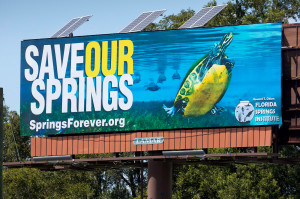 save our springs I75 billboard